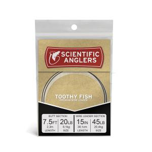 Toothy Fish 7.5ft AR Tapered Leader Ni-Ti Wire