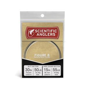 Figure 8 Leader 30'' 50 lb Fluoro + 15'' 55 lb NiTi Wire