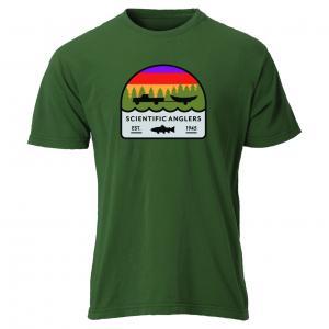 SA T-shirt Trout Olive