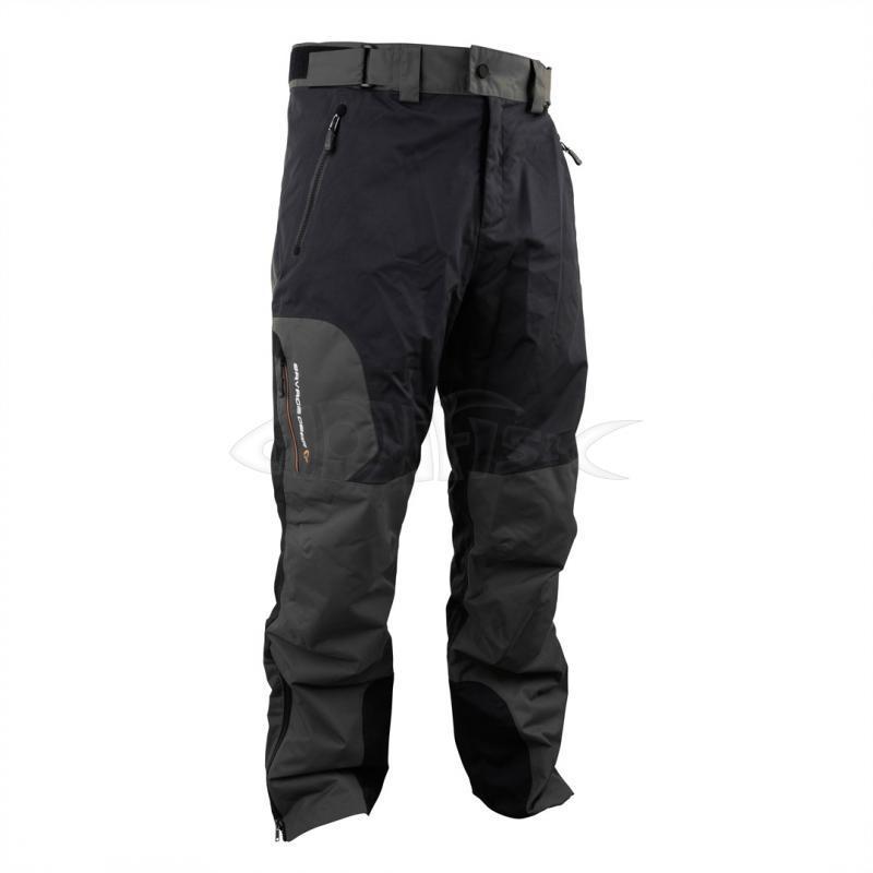 Rybářské nepromokavé kalhoty Savage Gear Black trousers - monfish 95781009a0